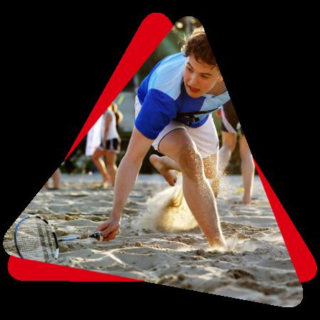 jongen in het zand png